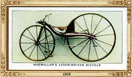 Bikes History bicycle history slideshow