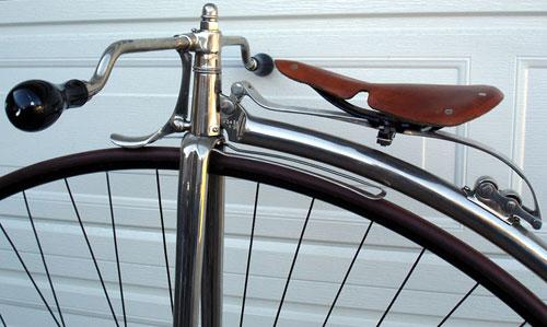 Singer British Challenge Highwheel Bicycle