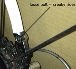 Bicycle Bike Noises, Clicks, Ticks, Creaks, Clunks, Knocks